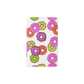 colorful frosted donuts doughnut with sprinkles pocket moleskine notebook
