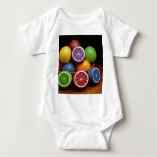 Colorful Fruit Baby Bodysuit