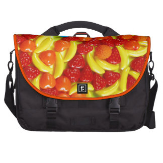 Colorful fruit candy pattern laptop computer bag
