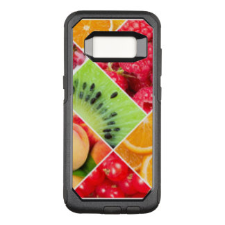 Colorful Fruit Collage Pattern Design OtterBox Commuter Samsung Galaxy S8 Case