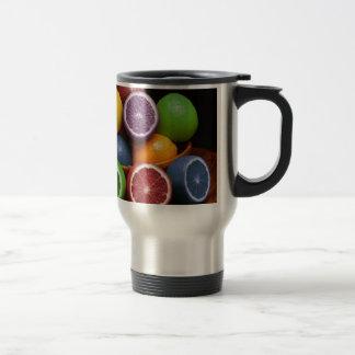 Colorful Fruit Mugs