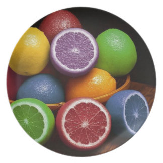 Colorful Fruit Plate