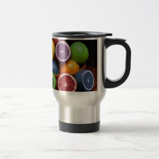 Colorful Fruit Stainless Steel Travel Mug