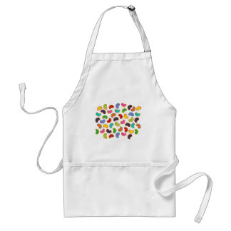 Colorful Fun Candy Retro Jellybeans Pop Apron