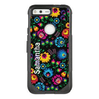 Colorful Fun Flowers OtterBox Google Pixel Case