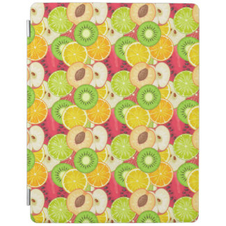 Colorful Fun Fruit Pattern iPad Cover