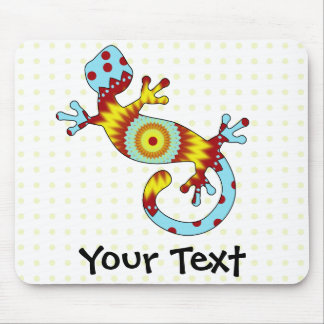 Colorful Fun Gecko Lizard Mouse Mat