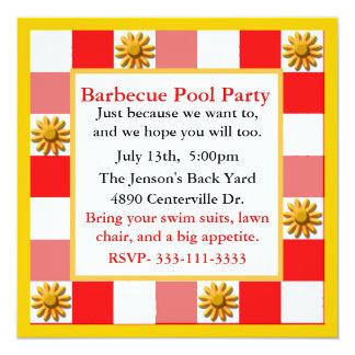 Colorful Fun Party Invitation