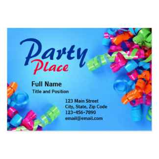 Colorful Fun Party Present Card Pack Of Chubby Business Cards