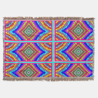 colorful fun pattern blanket