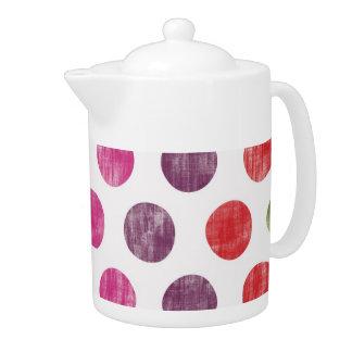 Colorful Fun Retro Polka Dot Pattern