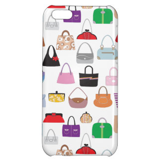 Colorful Funky Purses iPhone 5C Cases