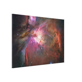 colorful galaxy gallery wrap canvas