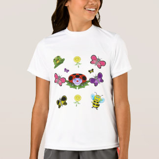 Colorful Garden Girls' Sport-Tek Competitor T-Shir T-Shirt