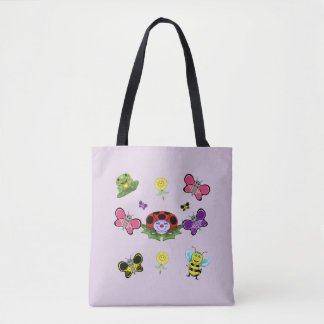 Colorful Garden Tote Bag