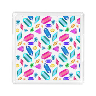 Colorful Gems Pattern