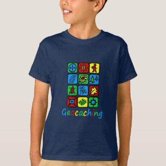 Colorful Geocaching Tee Shirt