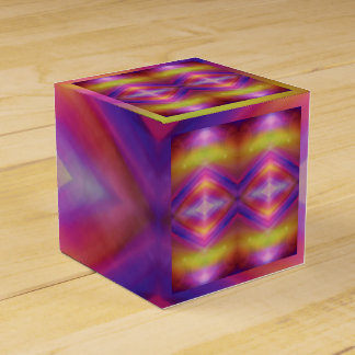 Colorful Geometric Abstract Favour Box