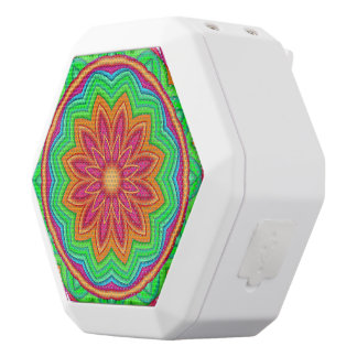 Colorful Geometric Flower Boombot REX Speakers