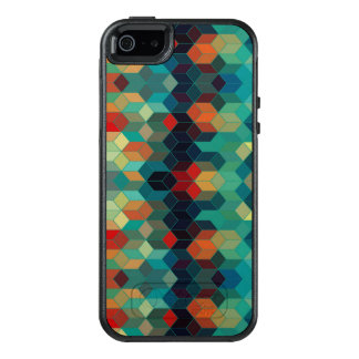 Colorful Geometric Modern Pattern OtterBox iPhone 5/5s/SE Case