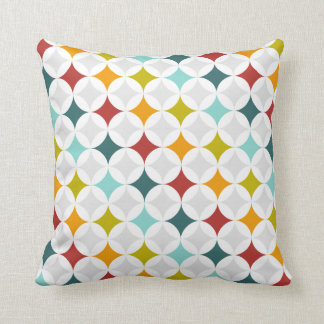 Colorful Geometric Pillow