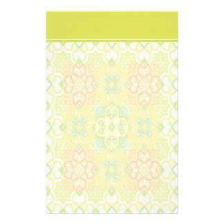 Colorful Geometric Stationery with Letterhead