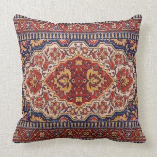 Colorful Geometric Tribal Rug Design Cushion
