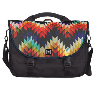Colorful Geometric Weave Bags For Laptop