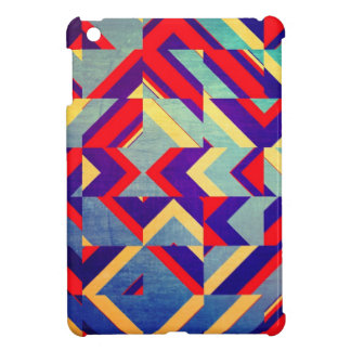 Colorful geometrical iPad mini case