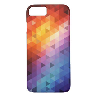 Colorful Geometry Pattern (Triangle Pattern) iPhone 8/7 Case
