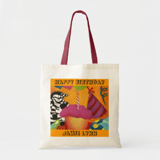 COLORFUL GIFT TOTE BAGS FOR CHILD S BIRTHDAY