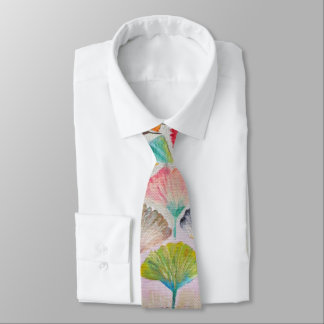 Colorful Ginkgo leaves#2 Tie