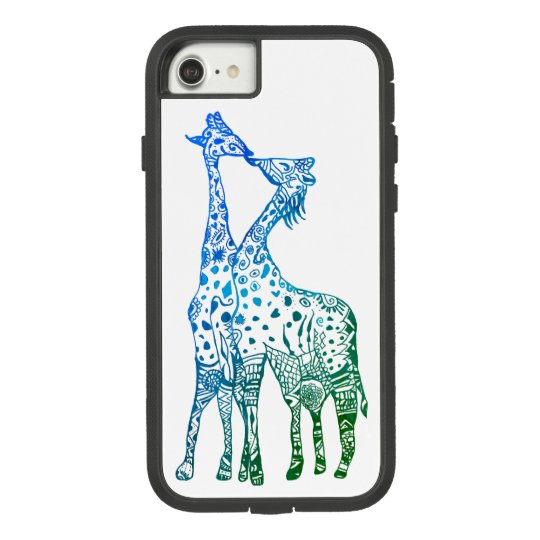 Colorful Giraffes Apple iPhone 8/7, Tough Xtreme Case-Mate