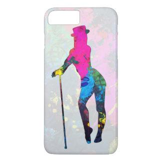 Colorful Girl Dancing Jazz Phone Case