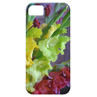 Colorful gladiola flowers iphone case iPhone 5 covers