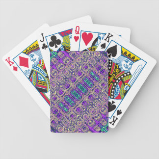 Colorful Glass Beads Abstract Bicycle Playing Cards