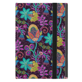 Colorful Glass Beads Look Retro Floral Design 2 iPad Mini Cases