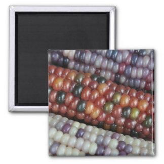 Colorful Glass Gem Corn on the Cob Magnet