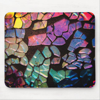 Colorful Glass Mosaic Mouse Mat