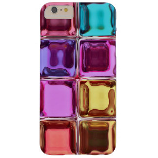 Colorful glass tiles barely there iPhone 6 plus case