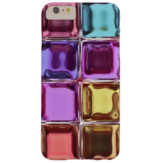 Colorful glass tiles barely there iPhone 6 plus