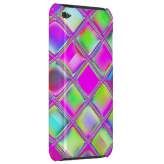 Colorful Glass Tiles Digital Art iPod Touch Case