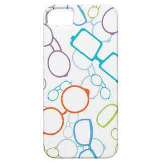 Colorful glasses pattern barely there iPhone 5 case