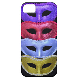 Colorful glitter masks case for the iPhone 5