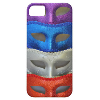 Colorful glitter masks iPhone 5 cover