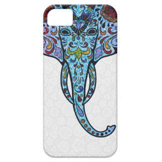 Colorful Glitter StellaRoot Peace Elephant Case For The iPhone 5