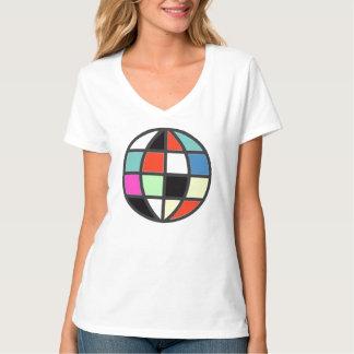colorful globe T-Shirt