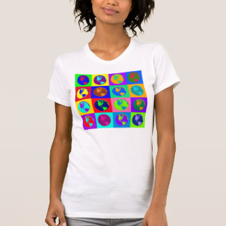 Colorful Globes T-shirts