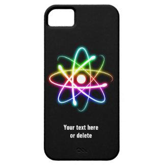 Colorful Glow Atom Symbol iPhone 5 Case
