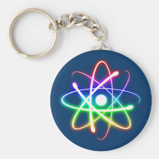 Colorful Glowing Atom - Keychains